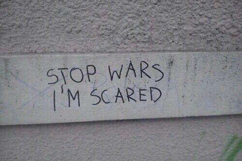 Wars are so so bad 😒