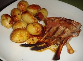 Recipes hunter: Carré di agnello al forno con patate