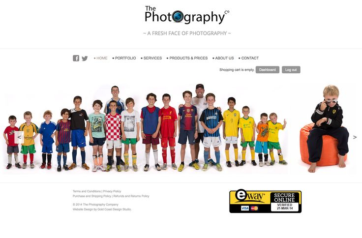 The Photography Company Website  www.thephotographyco.com.au