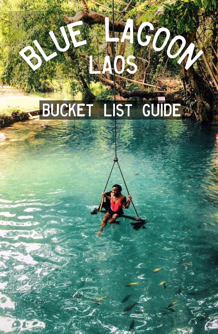 Complete guide to the Blue Lagoon Vang Vieng, Laos