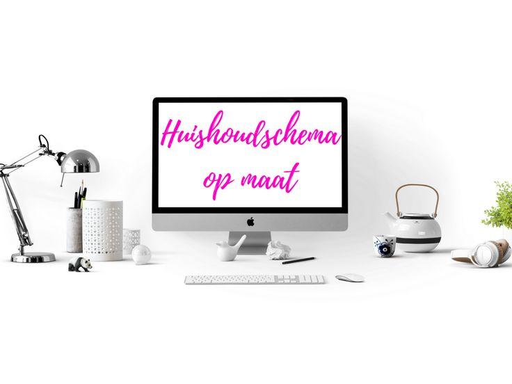 Een op maat gemaakt huishoudschema, speciaal voor jouw huishouden. http://www.waarismam.nl/op-maat-gemaakt-huishoudschema/