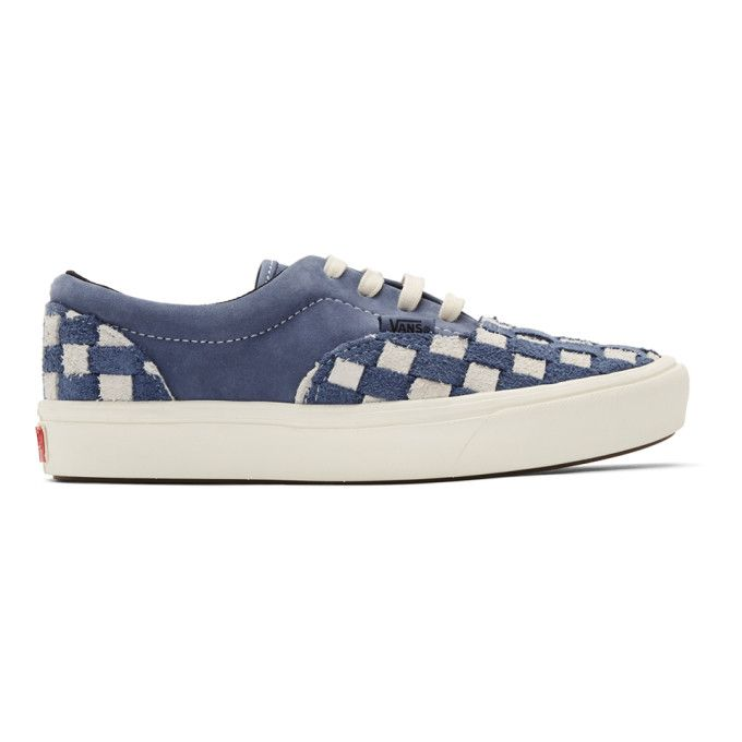 Vans Navy And Off-white Checkerboard