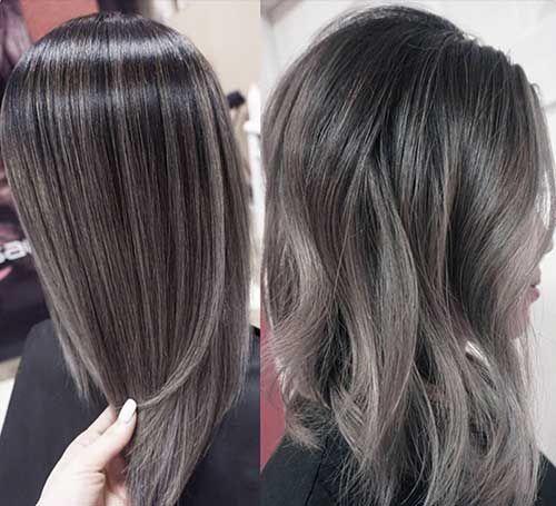 27.Long Gray Hair
