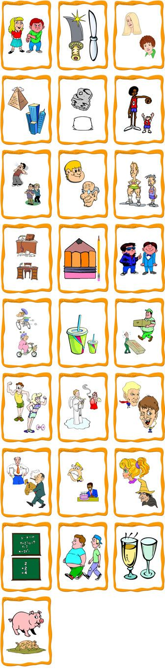 FlashCards Preview - Adjectives Opposites Flashcards  - A set of adjective flashcards combining Set A and Set B for comparative purposes.