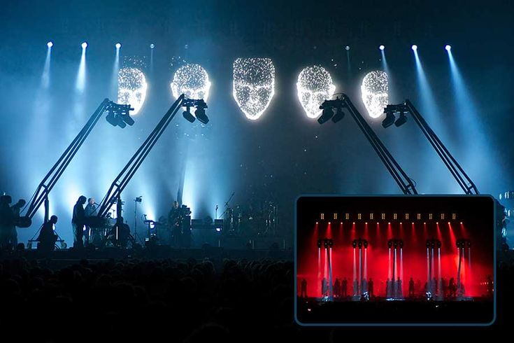 Peter Gabriel world tour - Renowned lighting designer, Rob Sinclair has used a Jands Vista L5 lighting and media control console to deliver an atmospheric visual feast - http://jands.com/archive-3797/peter-gabriel-back-to-front-world-tour/