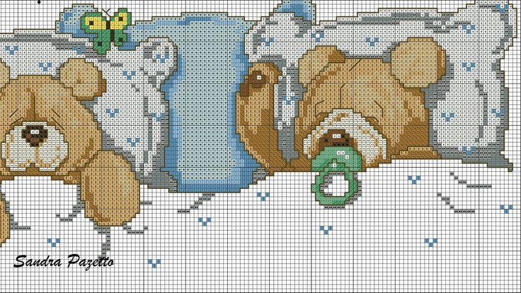 ursinhos para jogo de cama ❤️vanuska❤️
