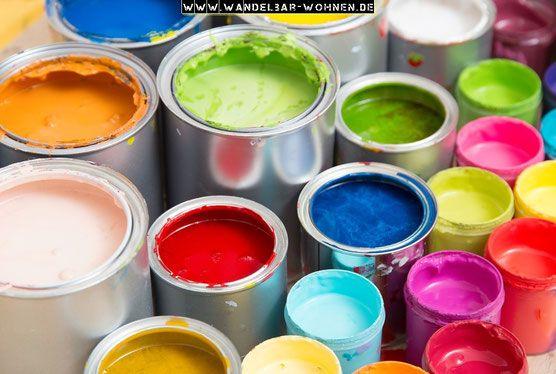 Farben, Lacke, Wandelbar Wohnen, Kreidefarbe, Chalk Paint, Übersicht der Farben, Farbratgeber