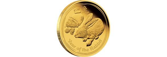Lunar Hase Goldmünzen Ankauf