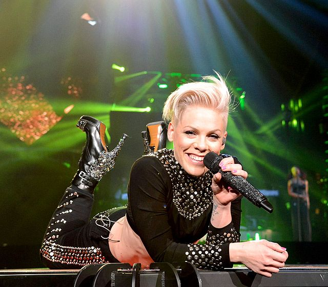 Pink opened her Truth About Love tour at US Airways Center in Phoenix, Ariz. Feb. 13.