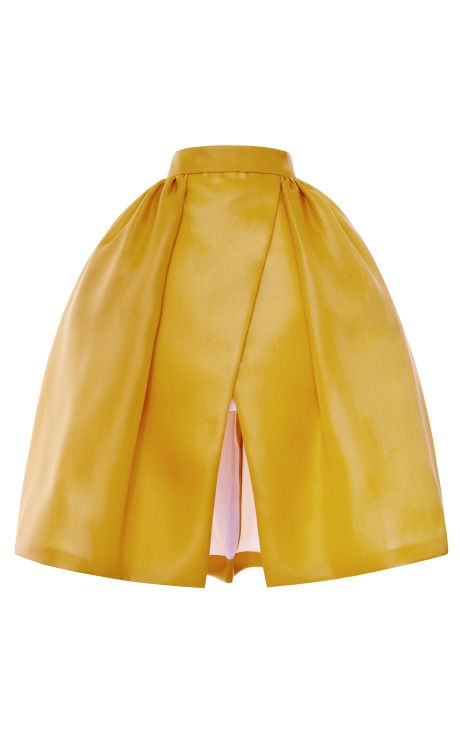 Shop Pleated+Hip+Wrap+Skirt+by+DELPOZO+-+Moda+Operandi