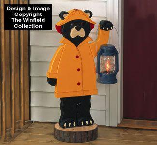 Rainy Day Bear Woodworking Plan