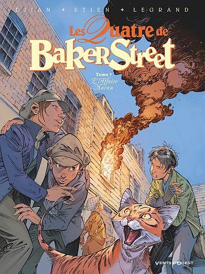 Feuilletez en ligne les premières planches de Les Quatre de Baker Street - Tome 7