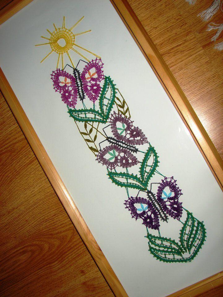 bobbin lace - Butterflies
