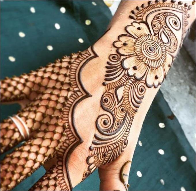 Henna Di Tangan Henna Henna Tangan Mehndi Designs