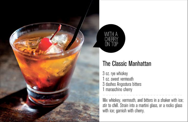 """ok.. this does not fall under """"health"""" or """"food"""" but everyone needs a drink sometimes, right? hehe. How to make a Manhattan drink."""