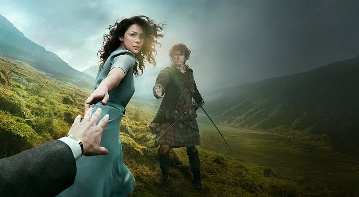 """Outlander - Episodes 2.01 & 2.02 - Titles Revealed - Episode 2.01 of Outlander is titled """"Through a Glass, Darkly"""", while Episode 2.02 is titled """"Not in Scotland Anymore""""."""