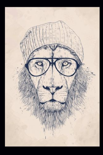 Cool Lion - Fine Art Print