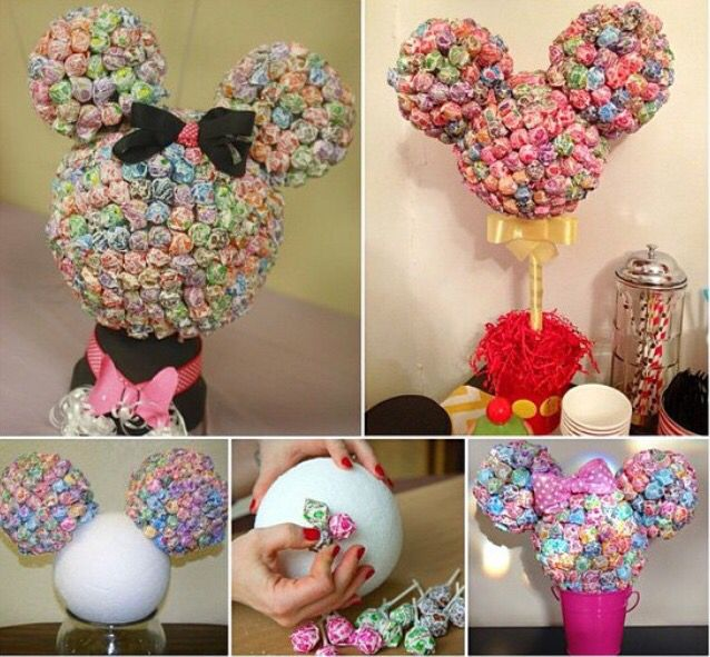 Lolly pop Micky mouse head