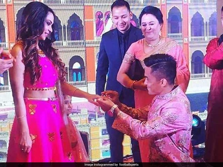 Sunil Chhetri Indian Football Captain To Marry Girlfriend Sonam Bhattacharya On December 4