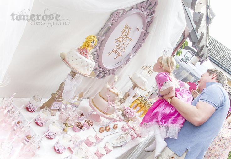 princess birthday party - cinderella party, fairytale, dessert table // sweet table