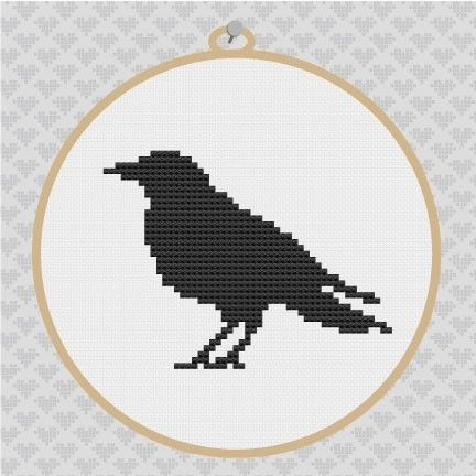 Original cross stitch pattern made in full cross stitches, this design uses only one dmc floss, so you can select the color of your choice. Perfect for beginners or experts!  This design is made to fit on a 5 x 5 frame if stitch on 14ct. Aida fabric. The actual silhouette is a bit smaller.  The PDF File will be available for download immediately once payment is confirmed. You will be able to access a file any time on your Purchases page. You will need Adobe Acrobat Reader to view and print…