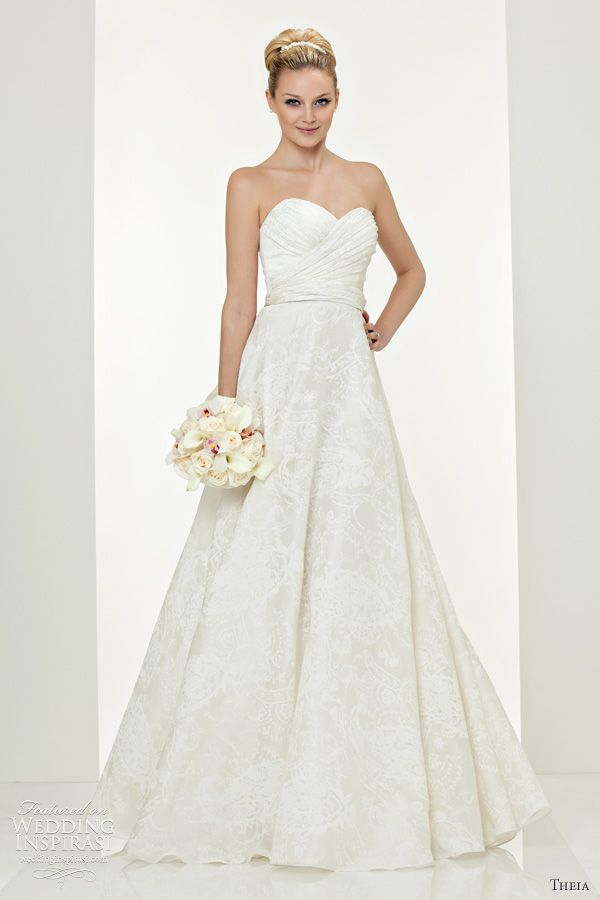 Theia Wedding Dresses Fall 2011   Wedding Inspirasi