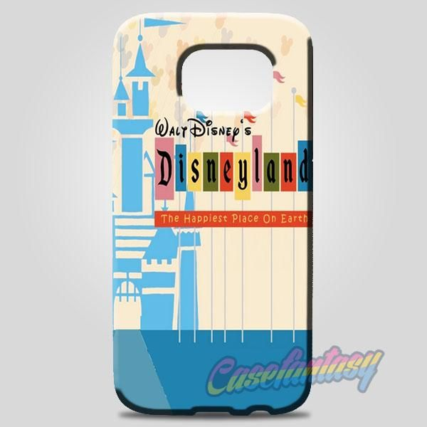 The Happiest Place On Earth Disneyland Ticket Samsung Galaxy Note 8 Case | casefantasy
