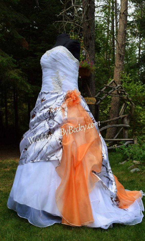 8b99ea3d18a NEW Camo Wedding Gown Truetimber snow-LAST ONE- Plus size 22 24 in 2019