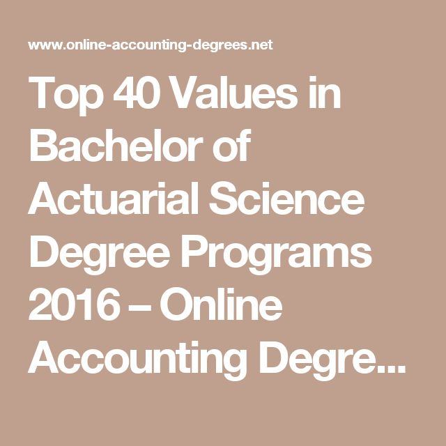 how to become an actuary with a math degree