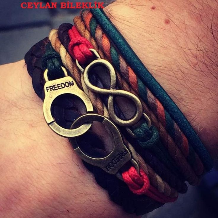 Handcuff Infinity Bracelet Leather Braided Bracelet Men | Etsy   – Erkek bileklikleri
