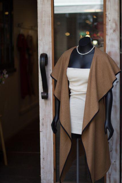 Mavis' Cape by Noeline Mavis. Versatile and handmade in NZ from 100% wool.