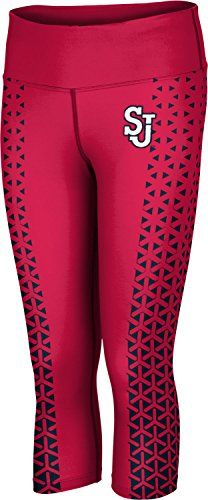 ProSphere Womens St Johns University Geometric Capri Length Tight -- Check out the image by visiting the link.