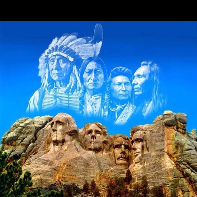 An alternative to the original.Black Hills, American History, The Real, Mount Rushmore, American Indian, South Dakota, United States, Found Fathers, Native American