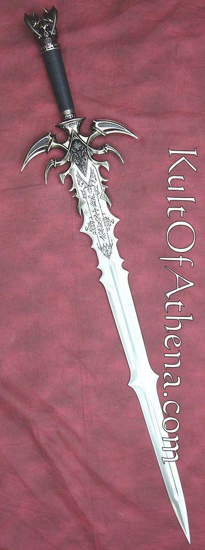 Corinnas Schwert (Schriftzeichen in blau)