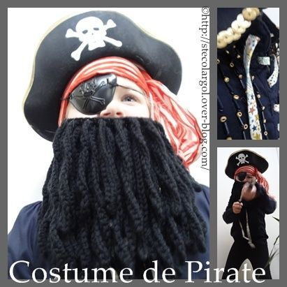 Déguisement de Pirate Tutos DIY