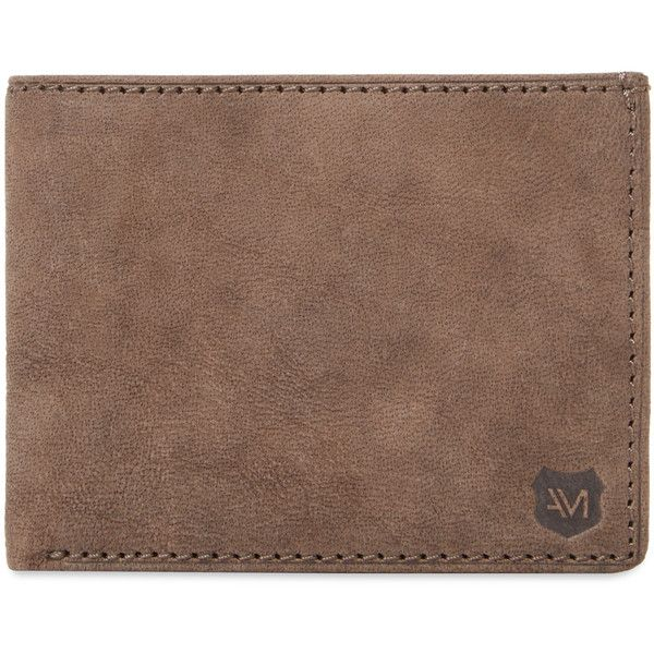 Andrew Marc Men's Grove Slim Leather Bifold Wallet - Light/Pastel... ($59) ❤ liked on Polyvore featuring men's fashion, men's bags, men's wallets, unknown, mens bifold wallets, mens slim wallet, mens wallets, mens leather bifold wallet and mens leather wallets