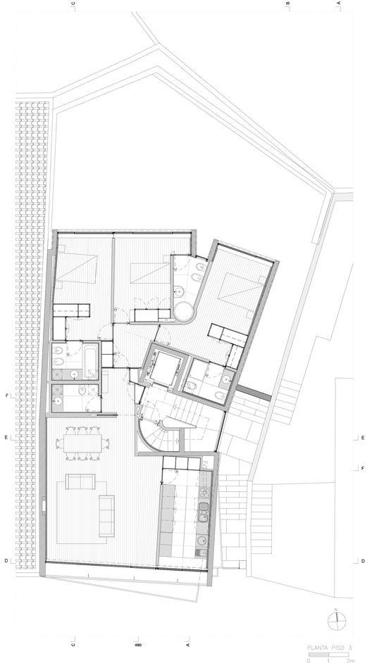 Edificio Cantareira,Planta Nivel 03