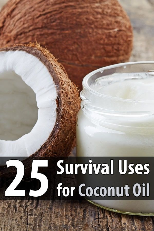 Coconut oil is one of the most popular multipurpose foods in the world. But most people don't know is that it also has many uses in a survival scenario .