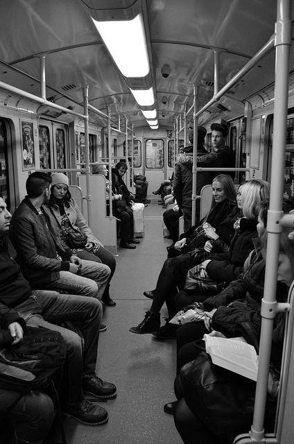 U-Bahn, Berlin by Riekiephotography