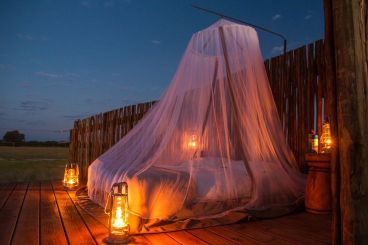 Scott's Pan sleep-out platform and hide officially opens! #Hwange #Zimbabwe #safari