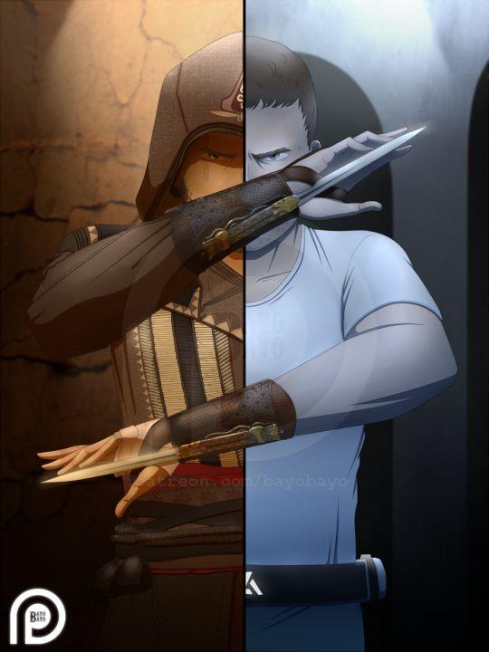 Assassin's Creed movie fan art