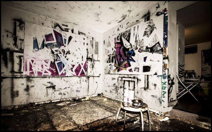 Krzysztof Cichoń,art space, painting, abstraction, canvas, acrylic, molotow, spray www.facebook.com/pg/StudioCkCichon/