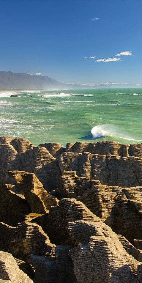 Punakaiki Pancake Rocks and Blowholes (West Coast) - NZ
