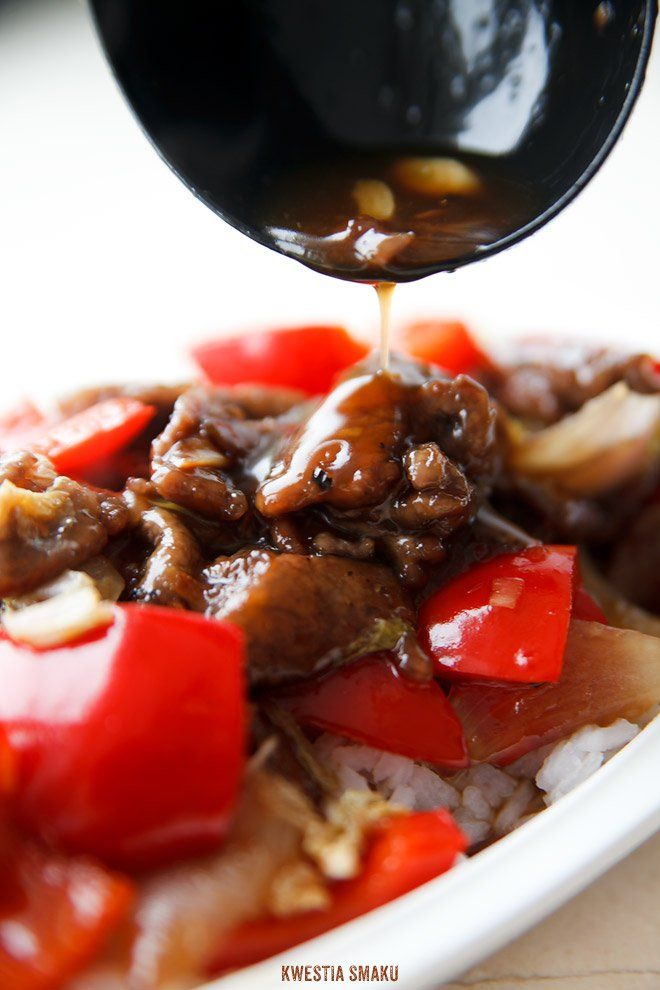 Wieprzowina w sosie słodko-kwaśnym
