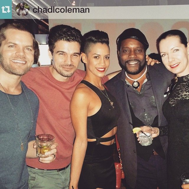 LOVE this pic from the wrap party ️ #Repost @chadlcoleman ...