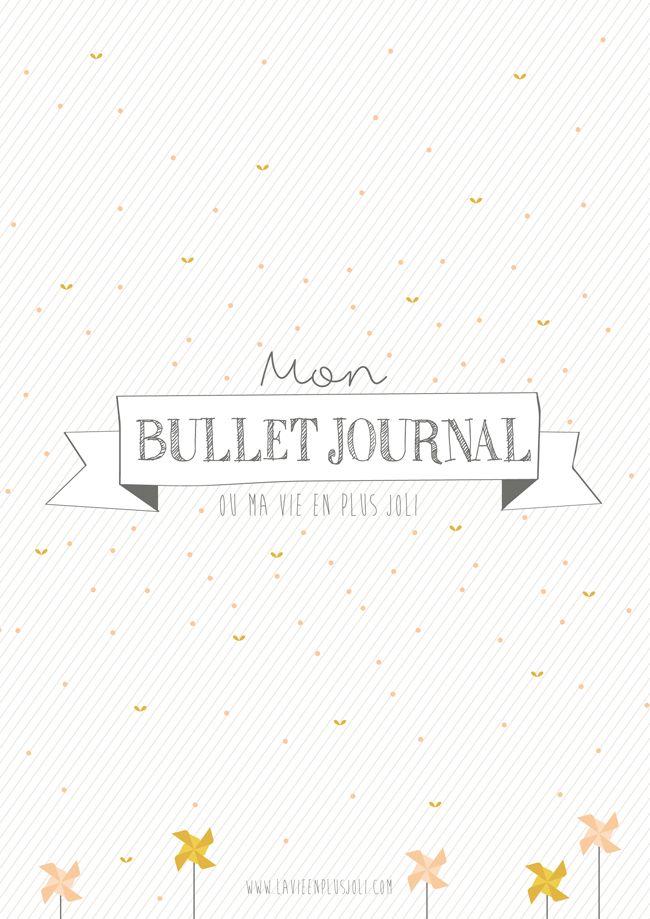 Printables - fichiers à imprimer pour Bullet Journal (BuJo)