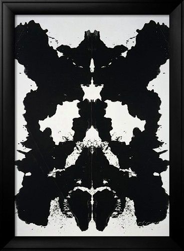 Rorschach, c.1984 Art by Andy Warhol at http://AllPosters.com