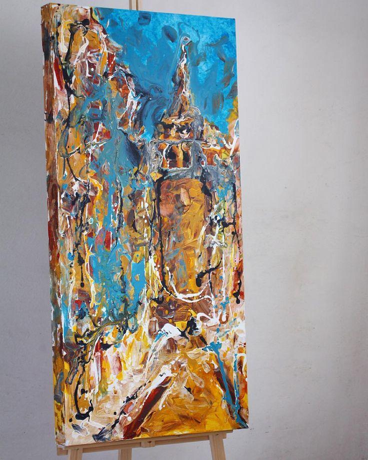 Galata Rüyası  oilpainting  120x60cm 2012