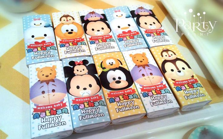 Tsum Tsum Ideas Para Fiestas: Disney Tsum Tsum Baby Shower Party Ideas