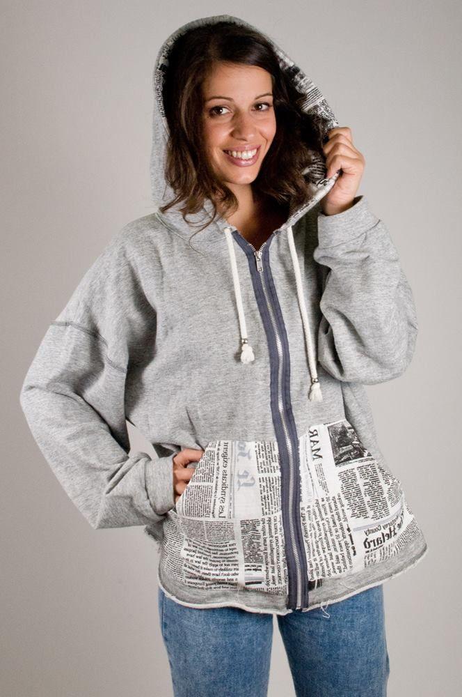 Grey Jacket – Newspaper